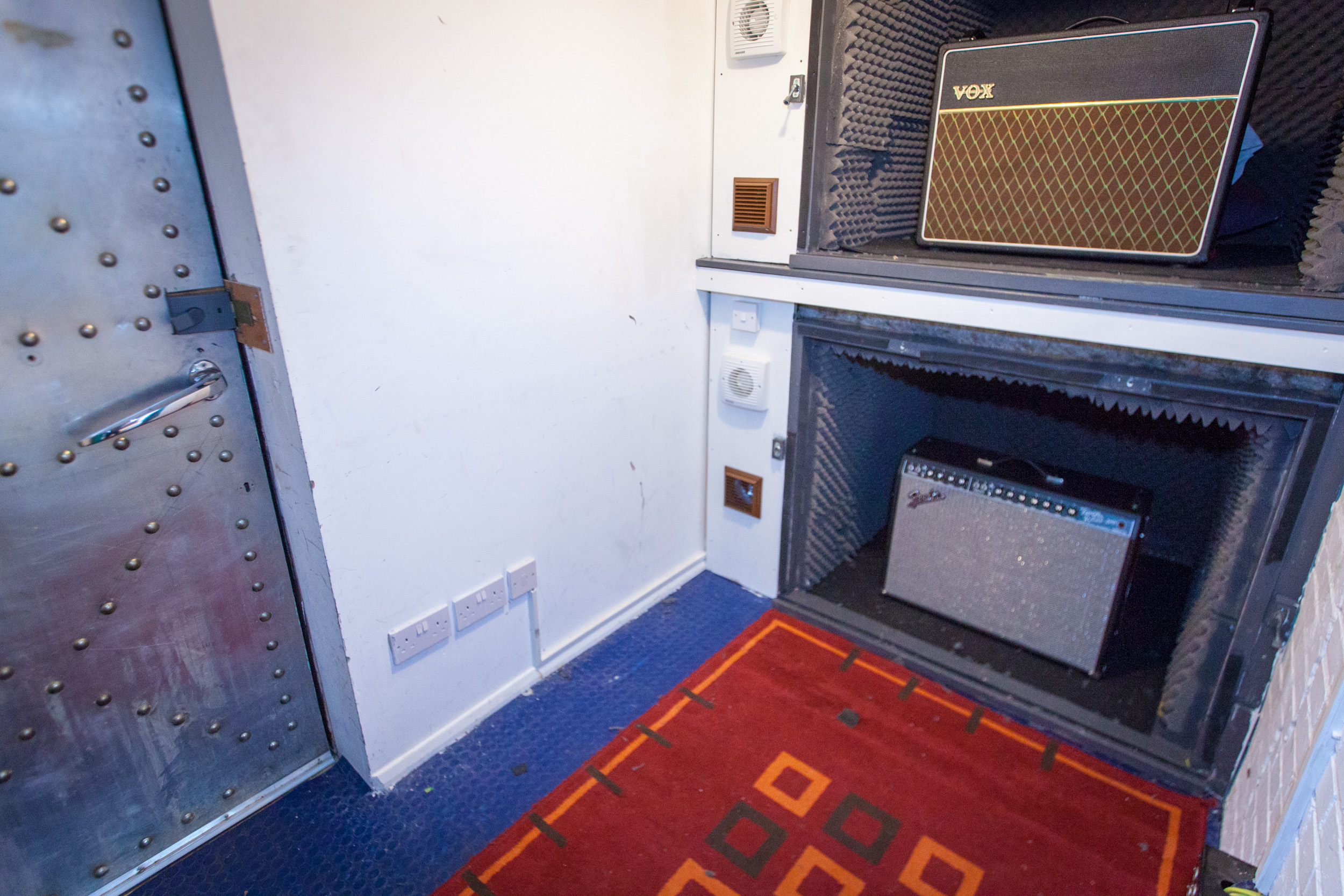 Studio 1 amp room 1